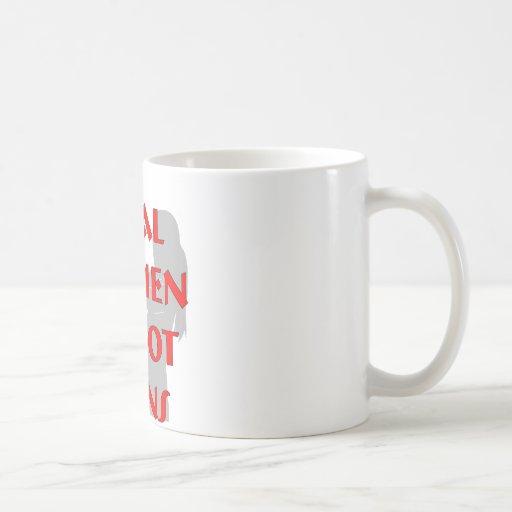 Real Women Shoot Guns Classic White Coffee Mug