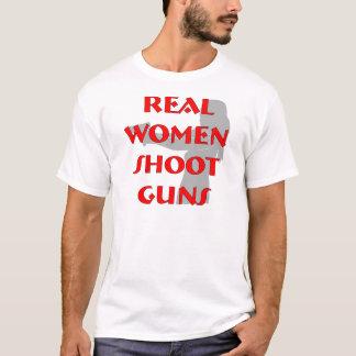 Real Women Shoot Guns T-Shirt