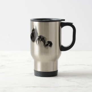 Real women show schnauzers 15 oz stainless steel travel mug