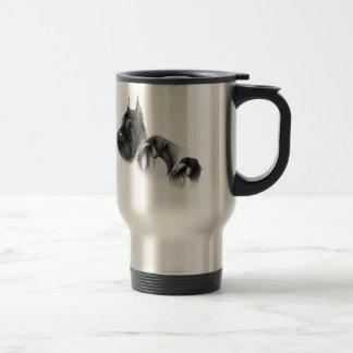 Real women show schnauzers travel mug