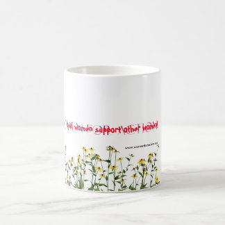Real Women Support Other Women Mug (all white)