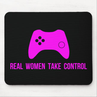 Real Women Take Control Mouse Pad