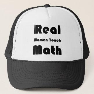 Real Women Teach Math Trucker Hat