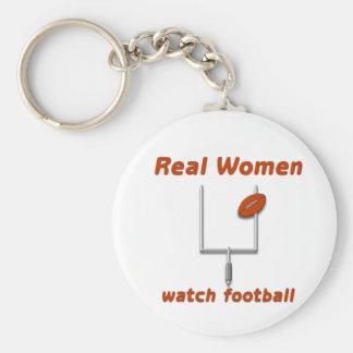 Real Women watch football #3 Key Chains