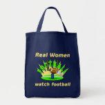 Real Women watch football Bags