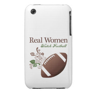 Real women watch football Case-Mate iPhone 3 cases