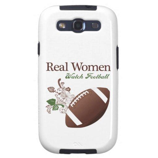 Real women watch football galaxy SIII covers