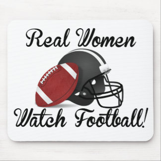 Real Women Watch Football! Mouse Pad