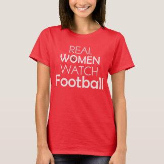 Real WOMEN Watch FOOTBALL Tee