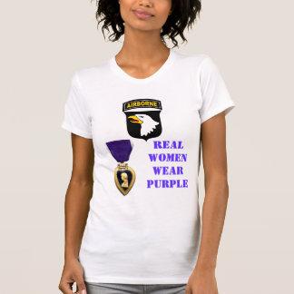 REAL WOMEN WEAR PURPLE T-Shirt