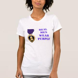 REAL WOMEN WEAR PURPLE T-SHIRTS