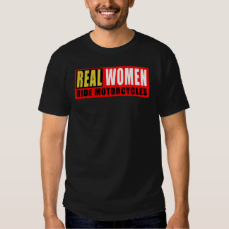 Real women wrinkle motorcycles t shirt