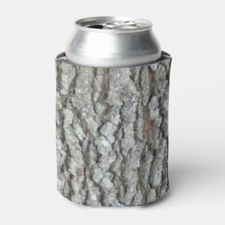 Real Wood Camouflage Oak Tree Bark Camo Can Cooler