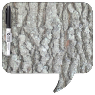 Real Wood Camouflage Oak Tree Bark Nature Camo Dry-Erase Board