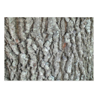Real Wood Camouflage Oak Tree Bark Nature Camo Large Business Card
