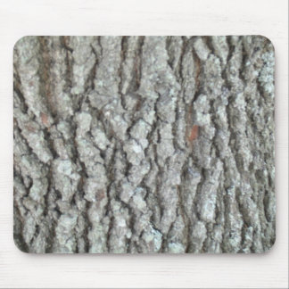 Real Wood Camouflage Oak Tree Bark Nature Camo Mouse Pads