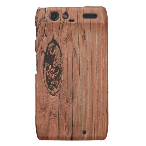 Real Wood Droid RAZR Case