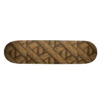 Real Wood Pattern Skateboard Deck