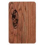 Real Wood Rectangular Magnets