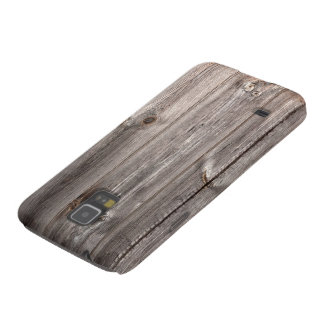 Real Wood Texture Case For Galaxy S5