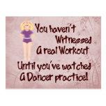 Real Workout Postcard