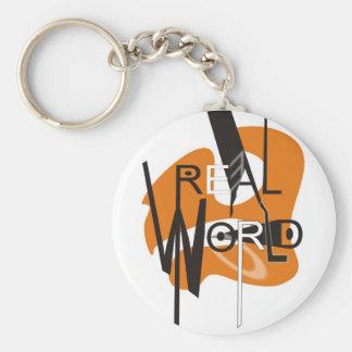 REAL WORLD KEYCHAIN