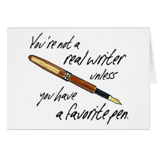 Real Writer Card