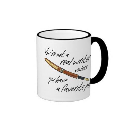 Real Writer Mugs