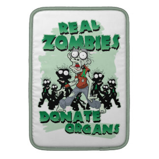 Real Zombies Donate Organs Sleeves For MacBook Air