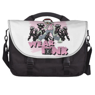 REAL Zombies Wear Pink Laptop Bags