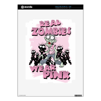 REAL Zombies Wear Pink Skin For iPad 2