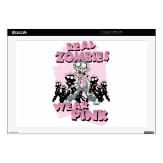 REAL Zombies Wear Pink Skin For Laptop