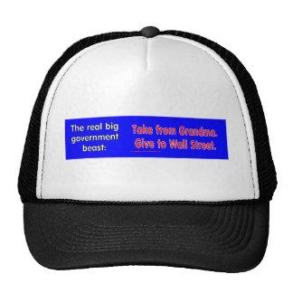 RealBeastGrandmaWallSt Trucker Hat