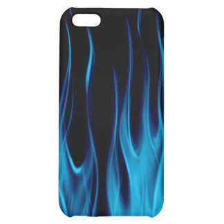 RealFlamesBLUE_board Case For iPhone 5C