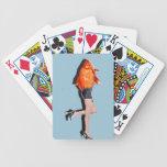 Realidad contra pescados baraja cartas de poker