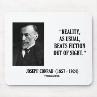 Realidad de Joseph Conrad como cita usual de la fi Tapetes De Ratón