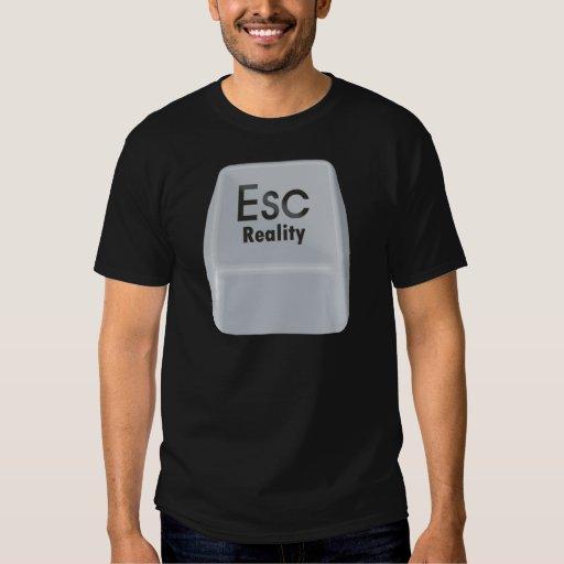Realidad del escape camisas