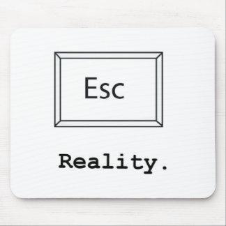 realidad del escape tapete de ratón