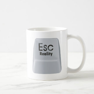 Realidad del escape taza