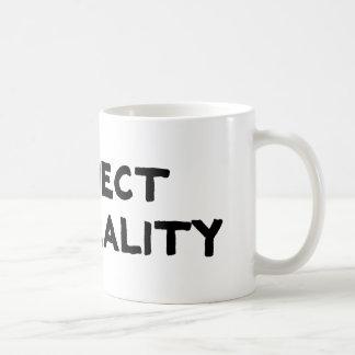Realidad del rechazo tazas de café