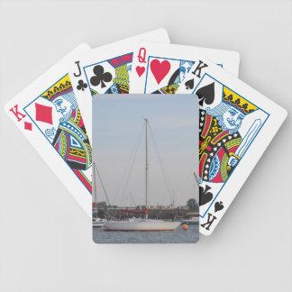 Realidad del yate baraja cartas de poker