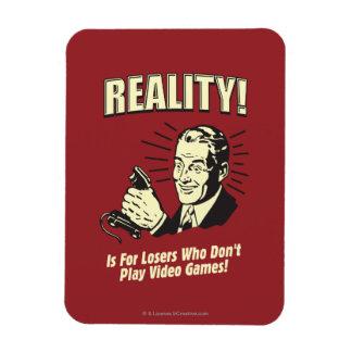 Realidad Para los perdedores Iman De Vinilo