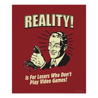Realidad: Para los perdedores Póster