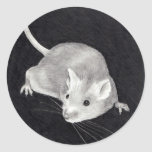 REALISM DRAWING OF MOUSE: STICKERS