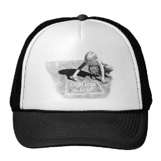 Realism Pencil Drawing Trucker Hat