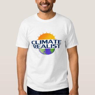 Realista del clima (blanco) polera