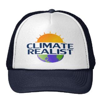 Realista del clima gorra