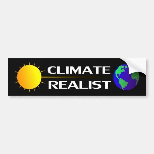 Realista del clima pegatina para auto