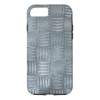 Realistic Aluminum Anti-Slip Sheet Texture Photo iPhone 8/7 Case