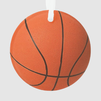 Realistic and cool Basketball Ornament